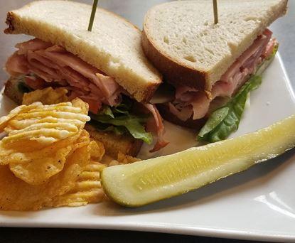 Ham & Provolone on Rye